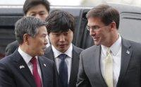 Esper calls on South Korea, Japan to show leadership to resolve dispute