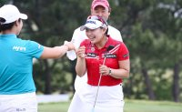 Lee Da-yeon cruises to outright victory at Asiana Airlines Open in China
