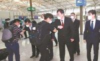 Korean businesspeople enter China under eased regulations