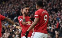Old Trafford euphoric again as United completes derby double