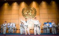 Two Koreas promote peace through taekwondo at UN Geneva