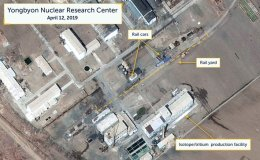 Railcars may indicate movement of radioactive material at North Korean nuclear complex: US think tank