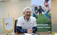 World Taekwondo chief celebrates World Refugee Day with dreamers in refugee camp