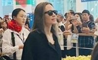 Angelina Jolie in Seoul to see son enter Yonsei University