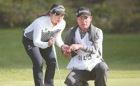 Copy Lee Da-yeon's symmetrical golf swing