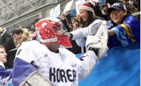 Goalie Dalton a rising star among Korean fans