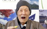 'World's oldest man' dies in Japan at 113 [PHOTOS]