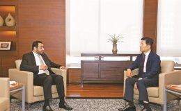 Omani envoy visits KCCI