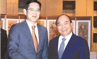 Samsung heir meets Vietnamese PM