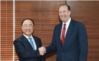 Meeting with next World Bank chief