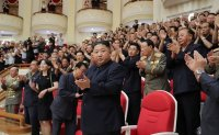North Korean leader back in Pyongyang, visits war cemetery