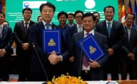 Boosting ties with Cambodia