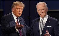 Trump, Biden predict victory in knife-edge US election