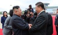 North Korean leader seeks economic breakthrough via China
