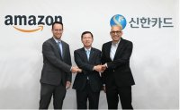 Shinhan Card to boost cooperation with Amazon