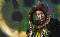 Colombian artist highlights indigenous culture