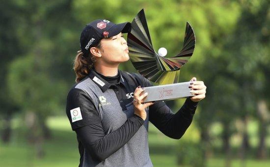 Thai Ariya ends 14-year wait for home LPGA title