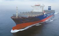 World's 1st LNG-powered container ship