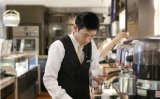 Barista hopes for his coffee to linger long in customers' memory