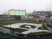 Korean baseball championship game postponed to Friday due to rain