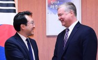 Biegun in Seoul this week to discuss resumption of nuke talks with North Korea