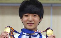 Little-known Korean teen shooter wins two gold medals