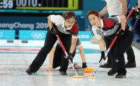 Team Korea beats powerhouse England in women's curling