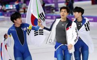 South Korea wins silver in men's team pursuit