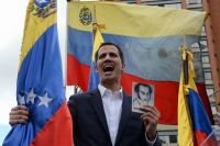 Venezuela's Guaido leaps from back-bench to center stage