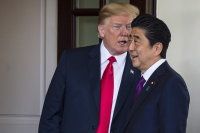 Abe mum on reports he nominated Trump for Nobel Peace Prize