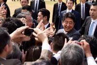 Japanese prime minister's approval rating wilts amid accusations of party funding