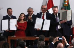 U.S., Canada and Mexico sign agreement - again - to replace NAFTA
