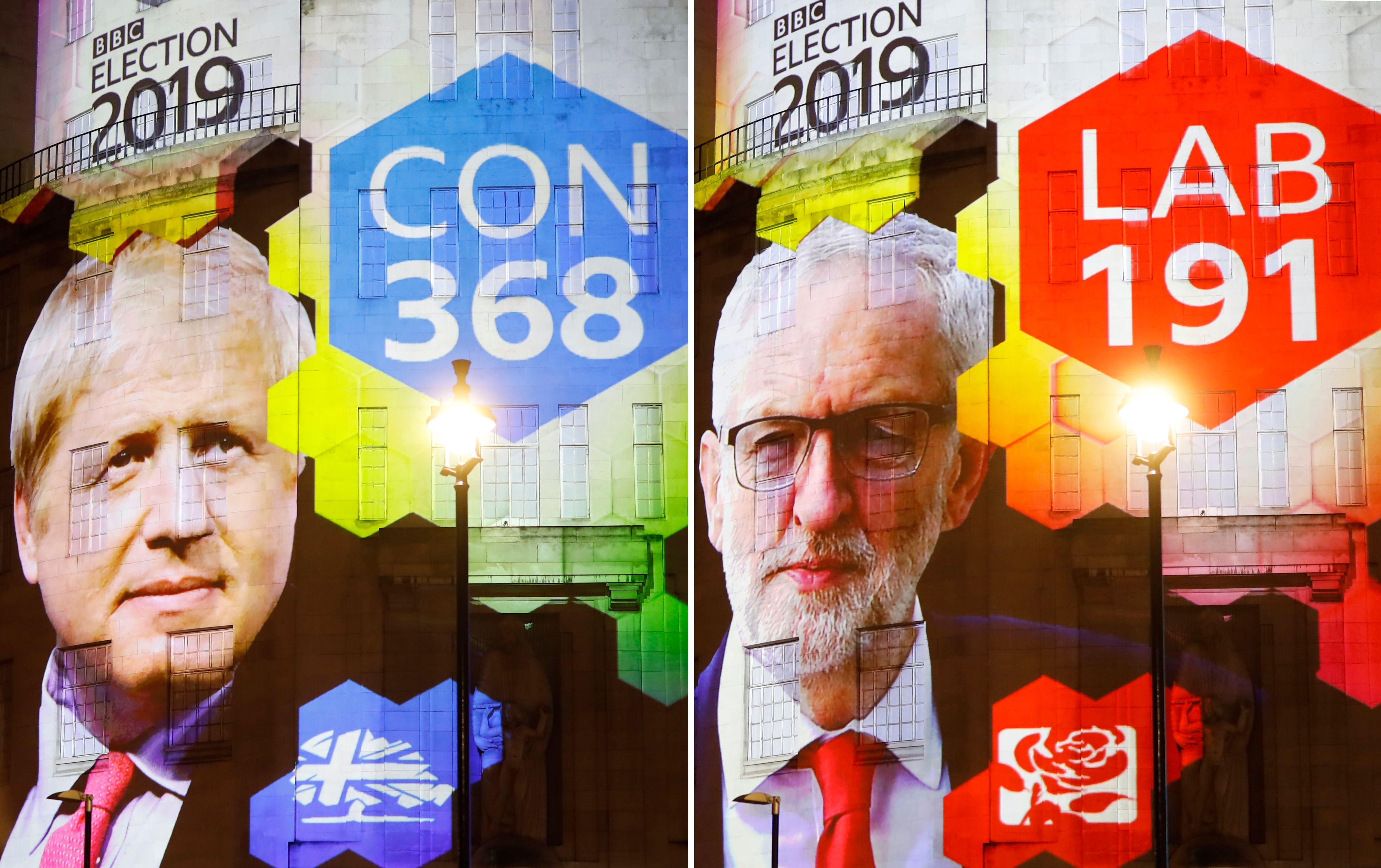 Johnson wins 'huge' mandate for swift Brexit in UK election