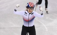 Choi Min-jeong wins gold in women's 1,500m short track speed skating