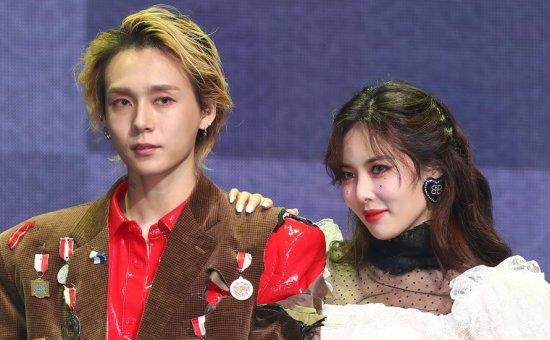 K-pop couple HyunA, DAWN comeback showcase clips
