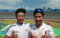 S. Korea wins cycling gold in men's team sprint, silver in women's team sprint