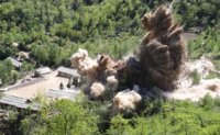North Korea blows up Punggye-ri nuke site