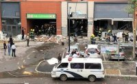 Korean BBQ gas tank explodes in China, killing 1
