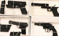 Police raid on Hong Kong gangs seize 700 ammunition rounds, imitation firearms