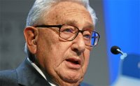 Kissinger urges greater cooperation with China as 'the world's center of gravity' shifts
