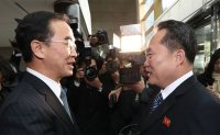 US vows to keep up pressure as two Koreas hold first talks in two years