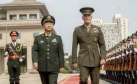 China, US military chiefs vow to patch up differences as N. Korea threat continues