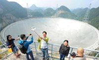 How noisy Chinese tourists may be drowning out alien signals at the world's biggest telescope