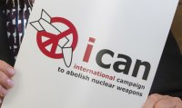 Anti-nuclear campaigner ICAN wins Nobel Peace Prize