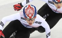 1st gold for Korea from men's short track