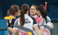 South Korea wins silver in women's curling