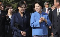 Koreas' first ladies visit Pyongyang children's hospital, music university