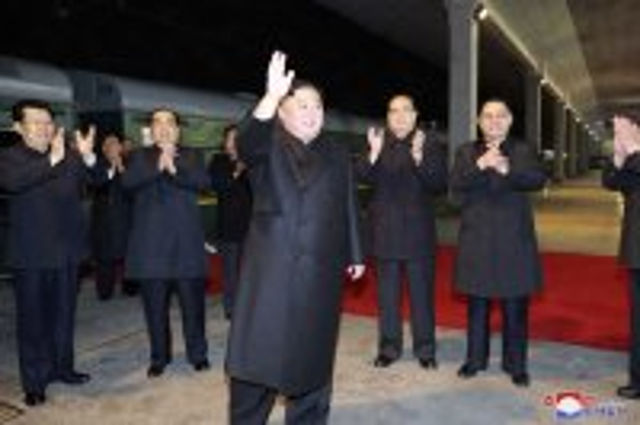 North Korean leader Kim Jong Un departs for Russia by train