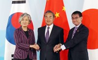 China, South Korea, Japan foreign ministers meet in Beijing amid strained ties