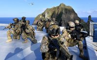South Korea holding military drills around Dokdo Islands